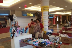 DeMolay selling novelties as a fundraiser at the 2016 Shrine Circus at the Bismarck Event Center.
