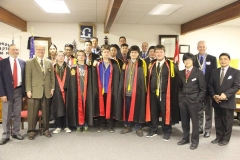 ND Chapter installation (Minot & Bison Bunch Clubs) by Winnipeg Chapter on Nov 28, 2015